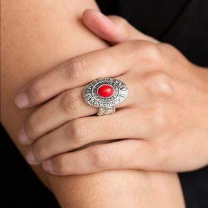 Stone fox red ring